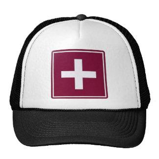 First aid trucker hat
