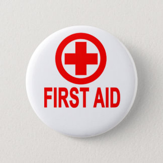 First aid Women's T-Shirts.png Pinback Button