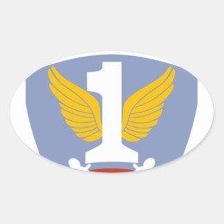 First Allied Airborne Army Oval Sticker