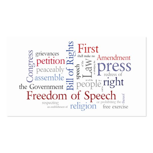 business and the bill of rights The first ten amendments to the us constitution are known as the bill of rights, protections for the individual rights of all american citizens.