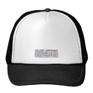 First Amendment Flag Trucker Hat