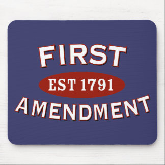 First Amendment Mouse Pad