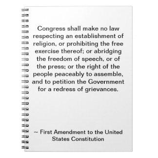 First Amendment Notebook