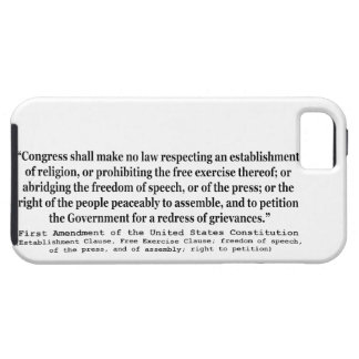 First Amendment of the United States Constitution iPhone SE/5/5s Case