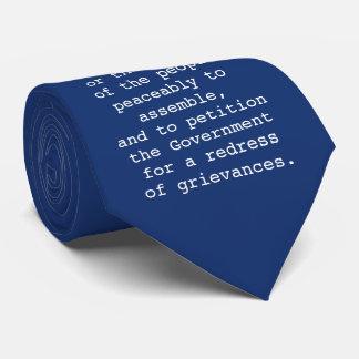 First Amendment Tie - Bill of Rights