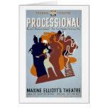 First American Play 1936 WPA Card