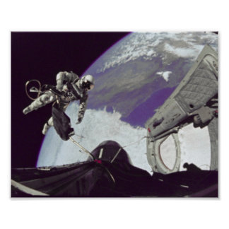 First American Spacewalk (Gemini 4) Posters