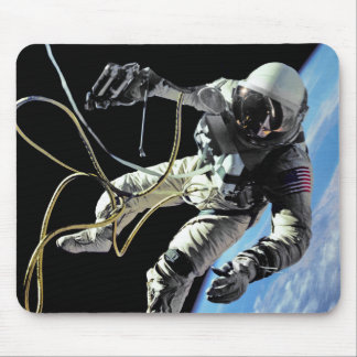First American Spacewalker Mouse Pad