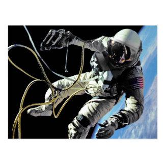 First American Spacewalker Post Card