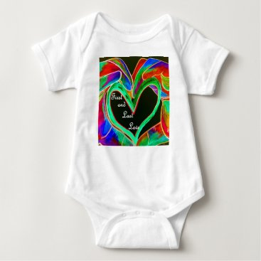 Wedding Themed First and Last Love Baby Bodysuit
