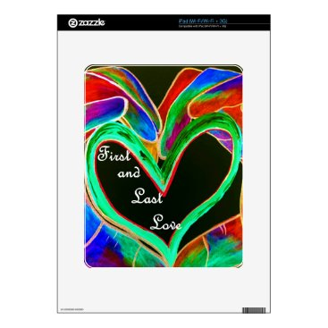Wedding Themed First and Last Love iPad Decals