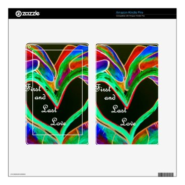Wedding Themed First and Last Love Kindle Fire Skins