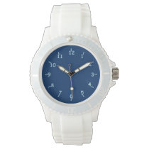 First and Ten Blues Wristwatch