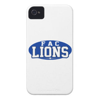 First Assembly Christian; Lions Case-Mate iPhone 4 Case