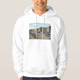 First Ave., Cedar Rapids, Iowa 1911 Vintage Hooded Pullover