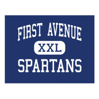 First Avenue Spartans Middle Arcadia Postcard