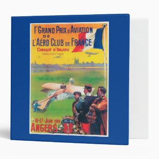 First Aviation Grand Prix Vinyl Binders