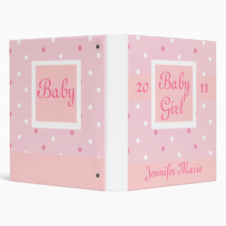 First Baby Photograph Book Vinyl Binders