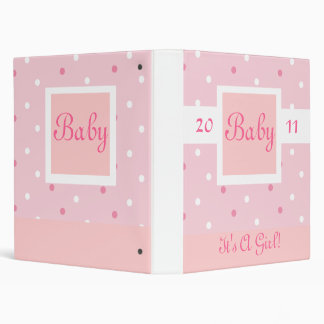 First Baby Photograph Book 3 Ring Binders