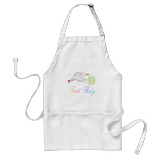 First Baby (Stork) Aprons