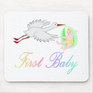 First Baby (Stork) Mouse Pad