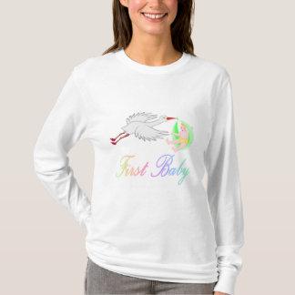 First Baby (Stork) T-Shirt