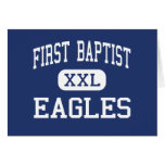 First Baptist - Eagles - High - Dallas Texas Greeting Cards