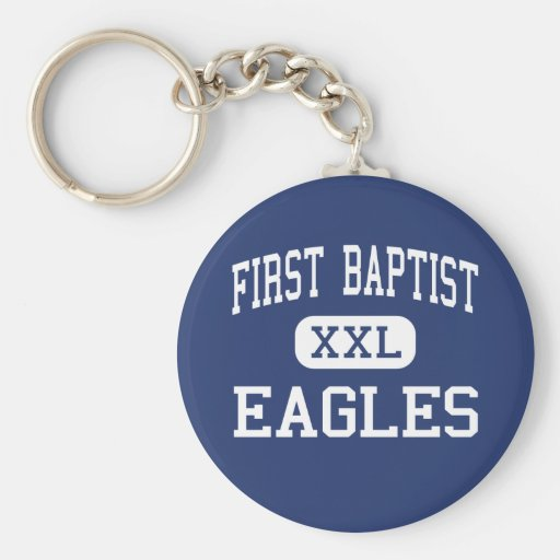 First Baptist Eagles Middle Dallas Texas Basic Round Button Keychain