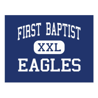 First Baptist Eagles Middle Dallas Texas Postcard