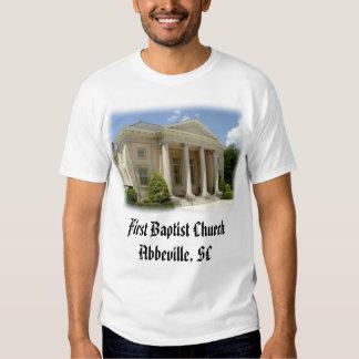 First Baptist, First Baptist Church Abbeville, SC T-shirts