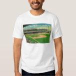 First Base Bleachers View of Crosley Field T Shirt