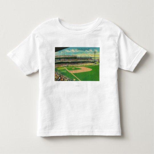 First Base Bleachers View of Crosley Field Toddler T-shirt