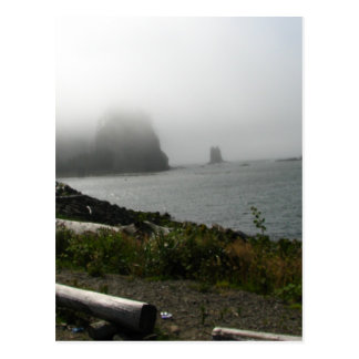 First Beach Postcard