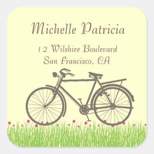 First Bike - Custom Stickers/Labels
