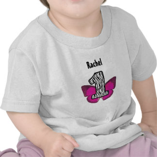 First Birthday 1 Year Old Zebra and Butterfly V01 Shirts