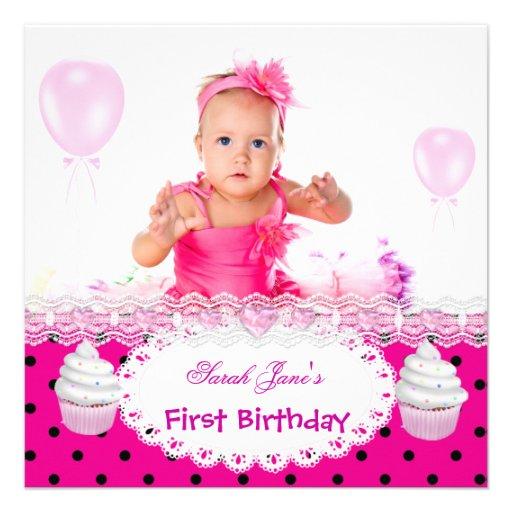 1st birthday baby photos