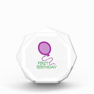 FIRST BIRTHDAY APPLIQUE AWARD