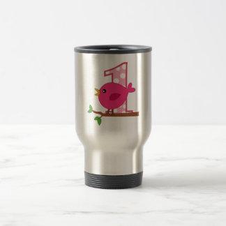 First Birthday Birdie Coffee Mug