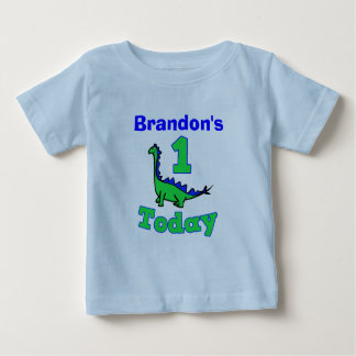 First Birthday Boy Dinosaur Shirt