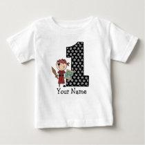 First Birthday Boy Pirate T-shirt