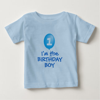 first birthday boy shirt
