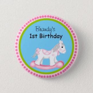 First Birthday Button
