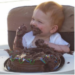 First Birthday cake!!! Photo Cut Out