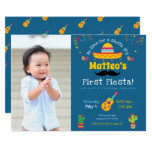First Birthday Fiesta Mexican Birthday Invitation