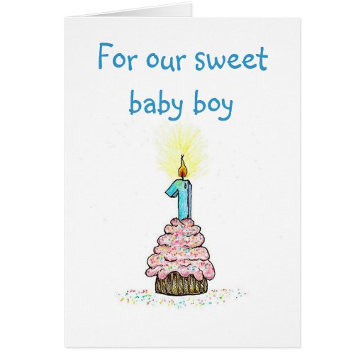 First Birthday From Parents Card