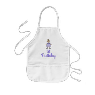 First Birthday Girl Aprons