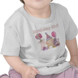 First birthday girl t shirt