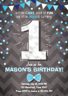 Save 60 on little man 1st birthday invitations limited time only first birthday invitation boy one navy blue bowtie filmwisefo