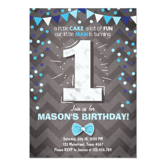 First birthday invitation boy one navy blue bowtie zazzle first birthday invitation boy one navy blue bowtie filmwisefo
