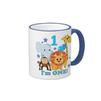 First Birthday Jungle Mugs